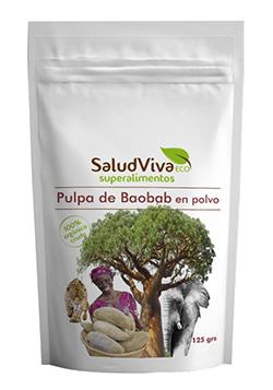 Pulpa de Baobab en polvo Salud Viva