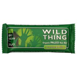 Barrita ecológica de coco y chía Raw Paleo Wild Thing
