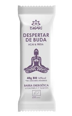 Barrita energética Despertar de Buda Acai y Fresa Iswari
