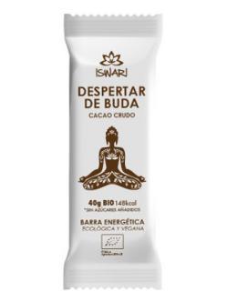 Barrita energética Despertar de Buda Cacao crudo Iswari