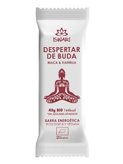 Barrita energética Despertar de Buda Maca y Vainilla Iswari