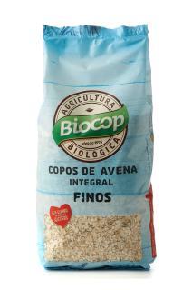 Copos de avena integral finos Biocop 500g.