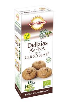 Delizias de Avena con Chocolate 125g.