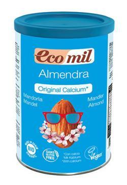 Bebida de Almendra en polvo con calcio Ecomil 400g.