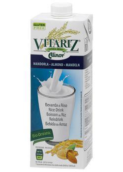 Bebida de arroz y almendras Vitariz 1l.
