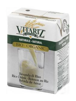 Bebida de arroz Vitariz 200ml.