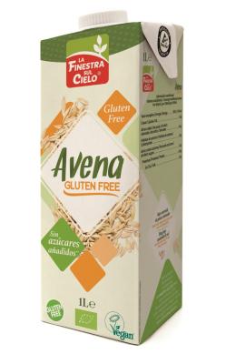 Bebida de avena sin gluten La Finestra 1l.