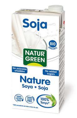 Bebida de Soja Natural Naturgreen 1l.