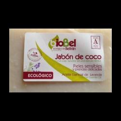 Jabón pastilla coco Biobel 240g