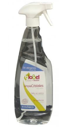 Limpiacristales eco spray Biobel 750ml.