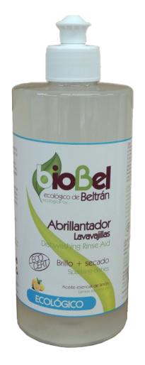 Abrillantador lavavajillas eco Biobel 500ml.
