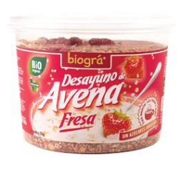 Desayuno Avena Fresa Biográ 220g.