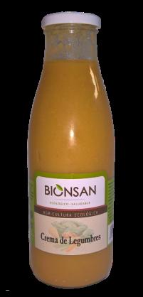 Crema de legumbres Bionsan 720ml.