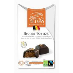 Bombones de chocolate con avellanas bio Belvas