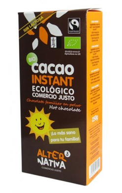 Cacao instant Alternativa3 250g.