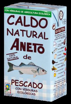 Caldo de pescado con verduras eco Aneto 1l.