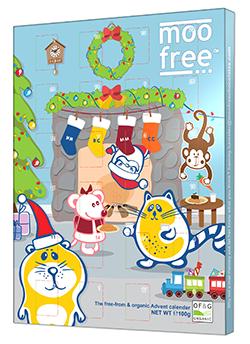 Calendario adviento sin gluten Moo Free