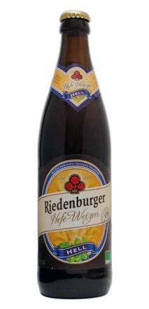 Cerveza de trigo Riedenburger