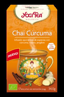 Chai cúrcuma Yogi Tea