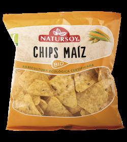 Chips de maiz Natursoy 75g.