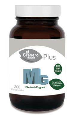 MG 500 Citrato de Magnesio El Granero Integral