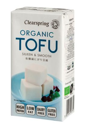 Tofu sedoso japonés Clearspring 300g.