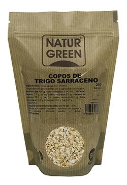 Copos de trigo sarraceno bio sin gluten Naturgreen