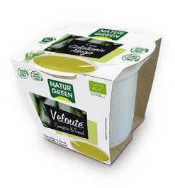 Crema de calabacín con hinojo Naturgreen 310g.