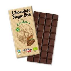 Chocolate negro 86% Chocolates Solé 100g.