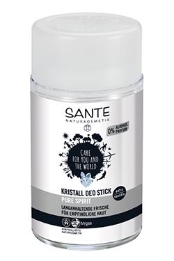 Desodorante stick mineral Pure spirit Santé 100g.