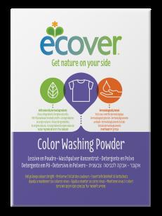 Detergente en polvo Color Ecover