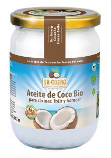 Aceite de coco para cocinar Dr. Goerg