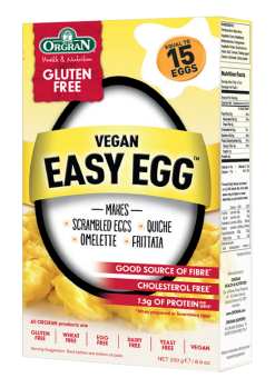 Easy egg Orgran sustituto del huevo