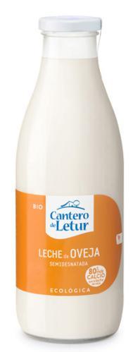 Leche semidesnatada de oveja Cantero Letur 1l.