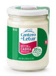 Kefir de cabra desnatado El Cantero de Letur 420g.