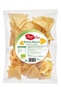 Nachos bio El Granero Integral 125g.