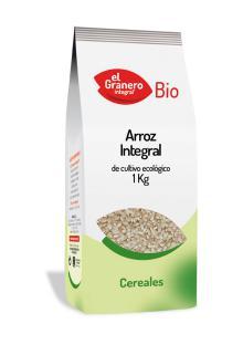 Arroz integral El Granero Integral 1kg.