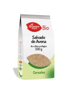 Salvado de avena bio El Granero Integral 500g.