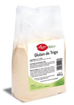 Gluten de trigo El Granero Integral 500g.