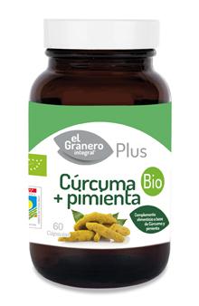 Cúrcuma y pimienta El Granero Integral 440mg. 60 cápsulas