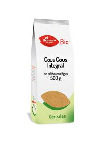 Cous cous integral bio El Granero Integral 500g.
