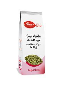 Soja verde bio El Granero Integral 500g.