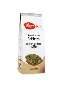 Semillas de calabaza bio El Granero Integral 450g.