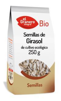 Semillas girasol El Granero Integral 250g.