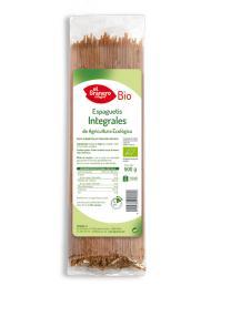 Espaguetis integrales bio El Granero Integral 500g.