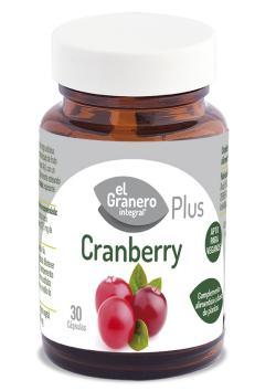 Cranberry El Granero Integral 30 cápsulas 460mg.