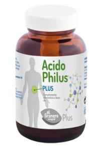 Acidophilus plus 100 comprimidos 530mg.