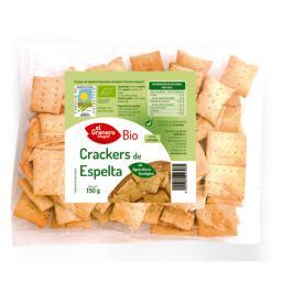 Crackers de espelta y sésamo bio El Granero Integral