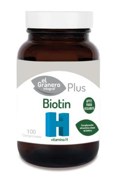 Biotin (vitamina h biotina) El Granero Integral