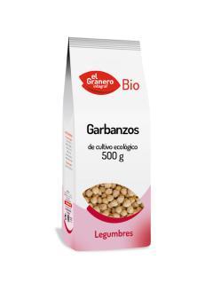Garbanzos bio El Granero Integral 500g.